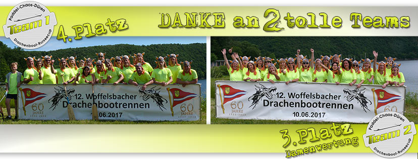 Drachenboot Rursee-Cup 2017