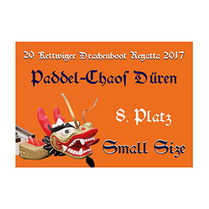 Urkunde Kettwiger Drachenbootrennen Small-Size 2017
