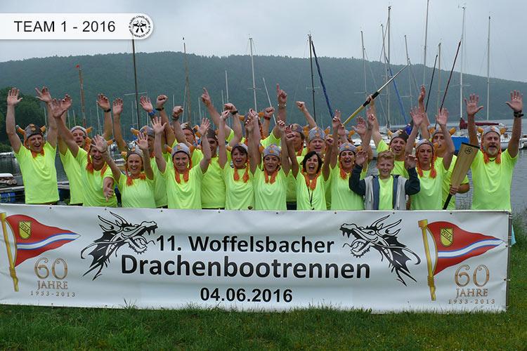 Drachenboot Dueren Team1 Rursee 2016
