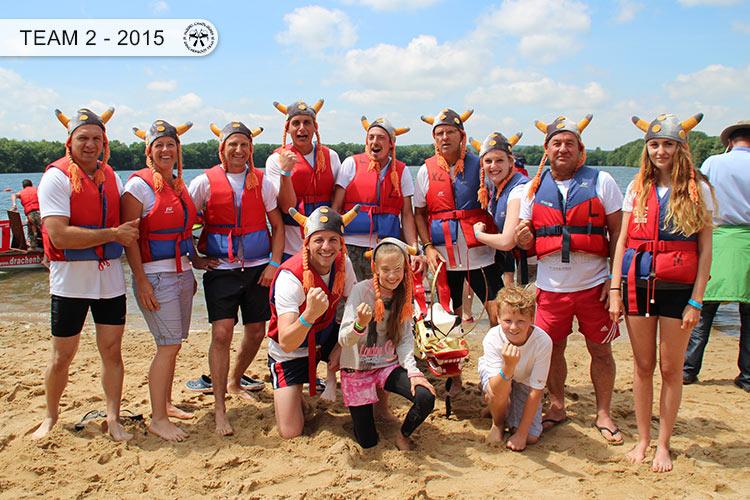 Drachenboot Dueren Team2 Dueren 2015