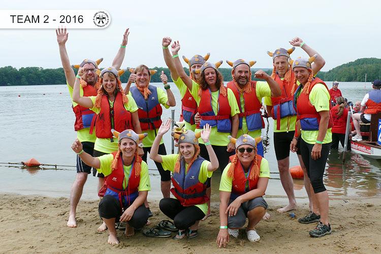 Drachenboot Dueren Team2 Dueren 2016