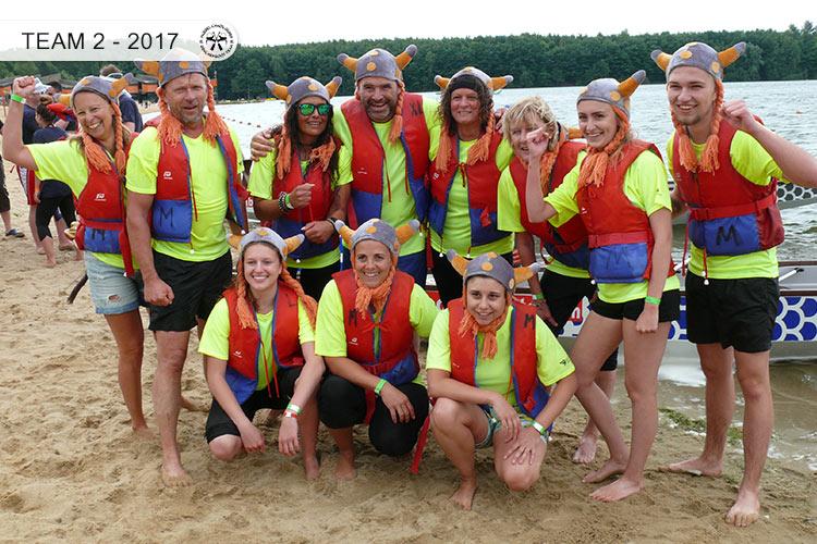Drachenboot Dueren Team2 Dueren 2017