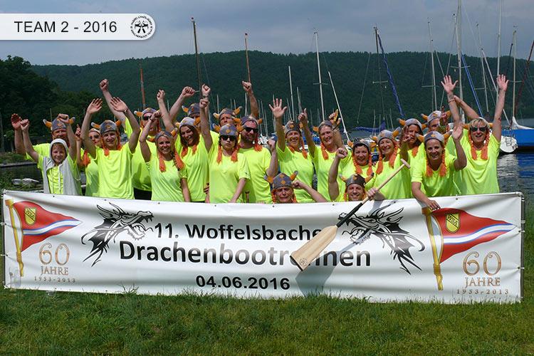 Drachenboot Dueren Team2 Rursee 2016