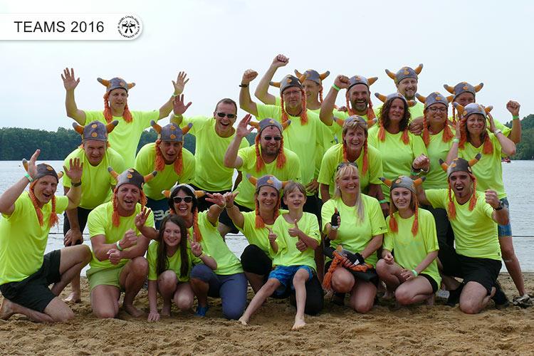 Drachenboot Dueren Teams Dueren 2016