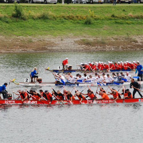 Drachenboot Rurseecup 2009