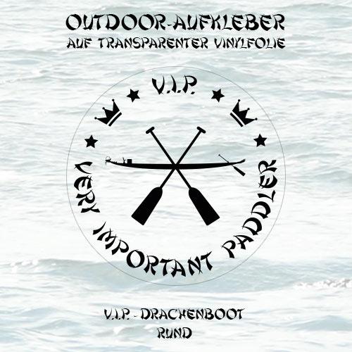 Aufkleber VIP Drachenboot