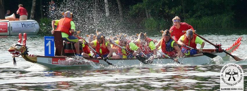 Drachenbootrennen Dueren 2016