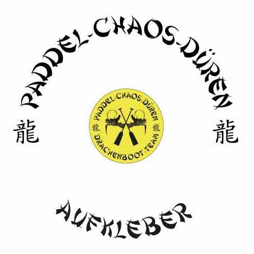 Paddel Chaos Dueren Aufkleber