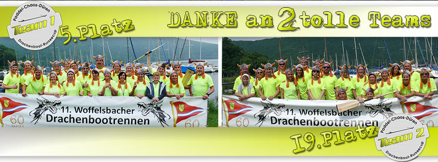11. Drachenboot Rursee-Cup 2016