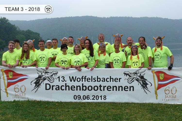 Drachenboot Dueren Team 3 Rursee 2018