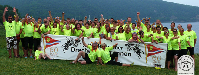 Drachenboot Rursee-Cup 2018 Paddel-Chaos-Dueren