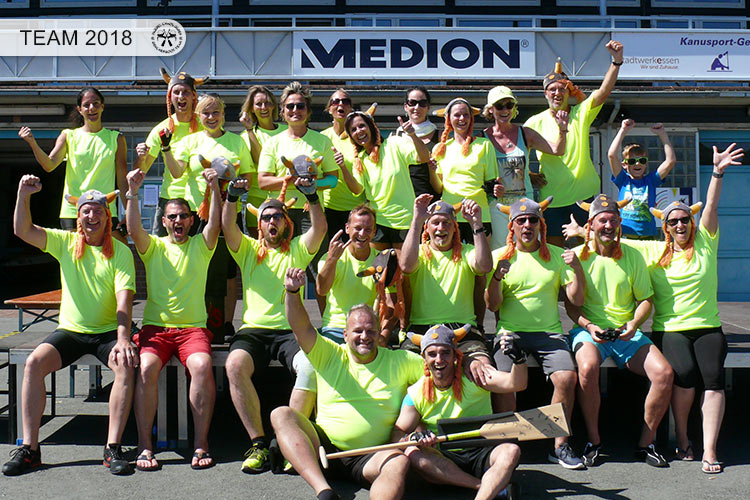 Drachenboot Dueren Team Essen Baldeneysee 2018