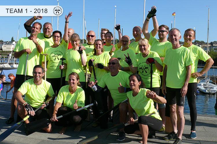 Drachenboot Dueren Team Dortmund Phoenixsee 2018