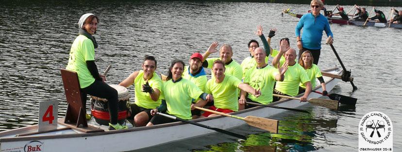 Drachenboot Event Oberhausen 2018
