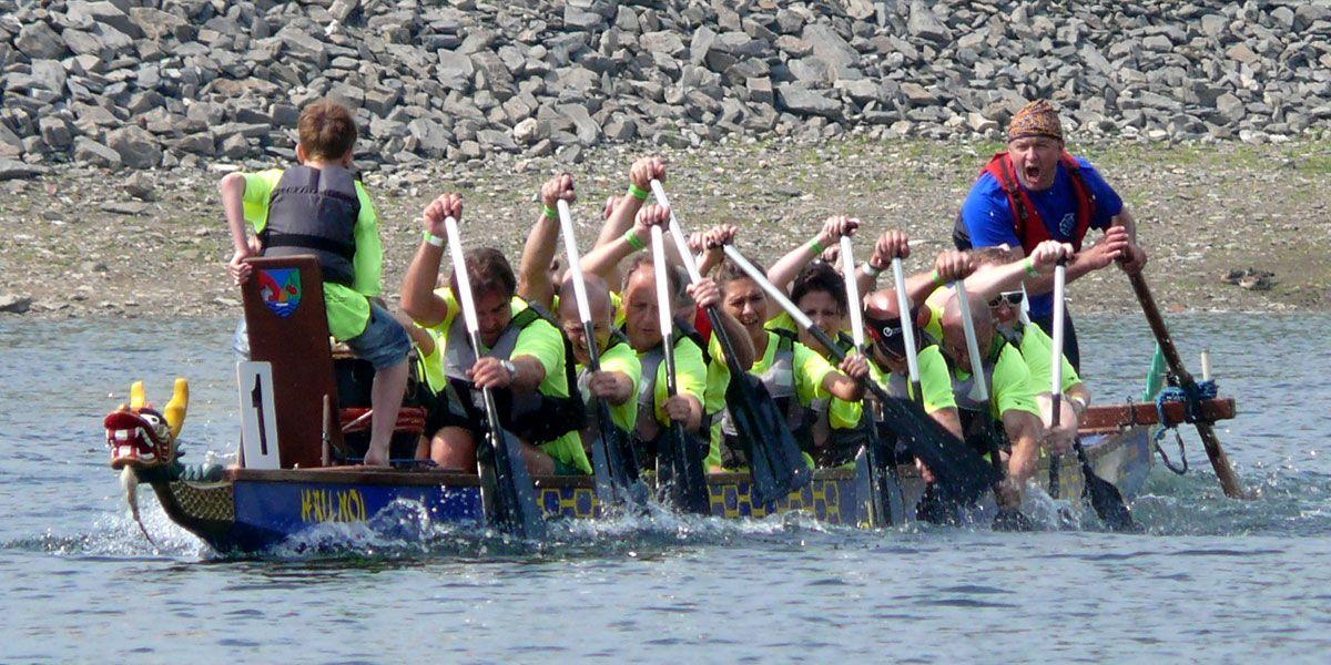 Drachenboot Rurseecup 2014