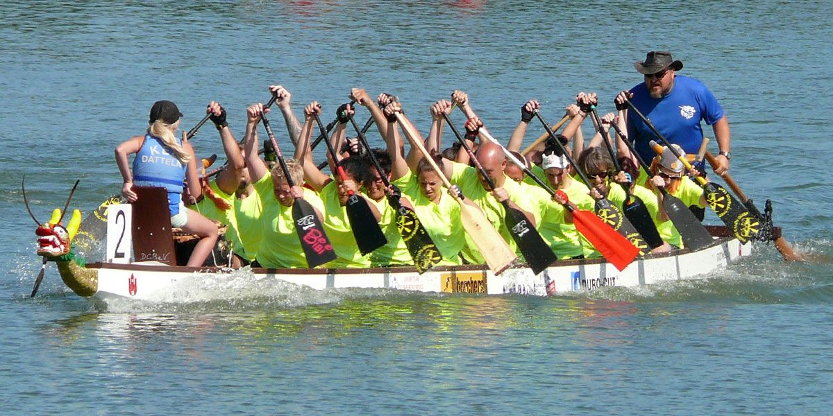Drachenbootregatta Day of Dragons Datteln 2019