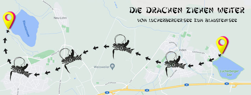 Neuer Drachenboot-Standort Blaustein See