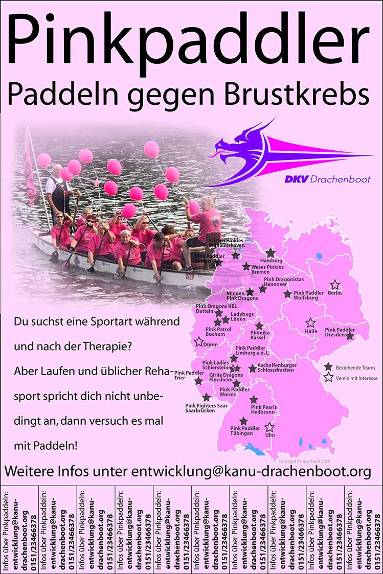 Plakat Pinkpaddler